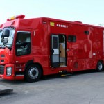 緊急消防援助隊車両『支援車Ⅰ型』